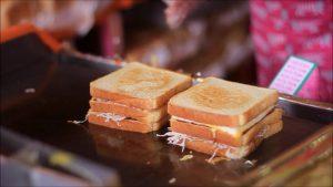 Korean street food 'Street Toast' : 부산대 길거리 토스트