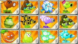 Plants vs Zombies 2 Mod: EVERY PLANT MAX LEVEL POWER-UP! vs JURASSIC MARSH FINAL BOSS
